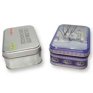 Tin boxes for gifts made by Shunho metal solutions in China
