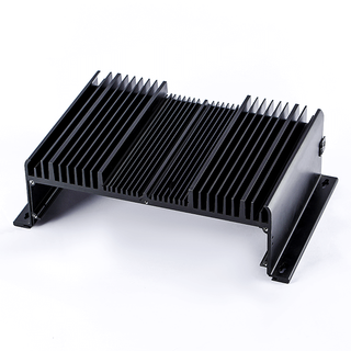 Black anodized aluminum heat sink made by SH metal solutions