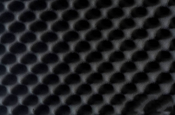 What is sound-absorbing sponge?
